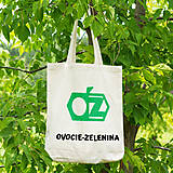 Nákupné tašky - Ovocie-Zelenina (bavlnená taška) - 8072430_