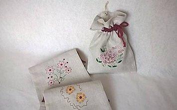 Dekorácie - Vrecko Natural Tun Pov na sušené bylinky - 8072703_
