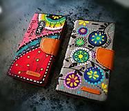 - Ručne maľované púzdro na mobil - 8070845_