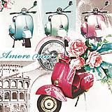 - retro moped  - 8070763_