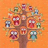 - sovičky v oranžovom - 8071064_