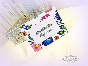 Papiernictvo - Folk Candy bar - 8070289_