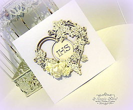 Papiernictvo - Ten, ktorý je Láska je už v mojom srdci... - 8073248_