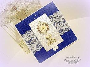 Papiernictvo - Eucharistia pre malého gentlemana - 8073297_