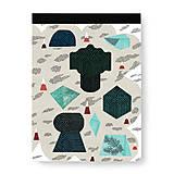 - Skicár Tajuplný smaragdový ostrov (Skicár B5) - 8071104_