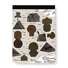 Papiernictvo - Skicár Ostrov jantárového kmeňa (Skicár B5) - 8071088_