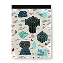 Papiernictvo - Skicár Tajuplný smaragdový ostrov (Skicár B5) - 8071104_