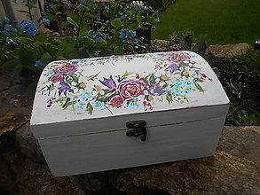 Krabičky - Z lúčnych kvietkov truhlica - 8071883_
