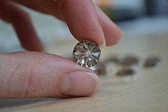 "Komponenty - Kabošon ""diamant"" medený 12mm, 0.15€/ks - 8071141_"