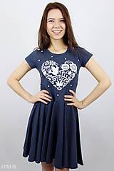 - Dámske šaty 11 kruhové VIERA, NÁDEJ, LÁSKA - 8072169_