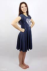 Šaty - Dámske šaty 11 kruhové VIERA, NÁDEJ, LÁSKA - 8072172_