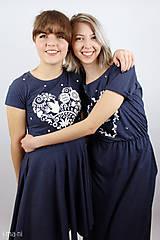 Šaty - Dámske šaty 11 kruhové VIERA, NÁDEJ, LÁSKA - 8072192_