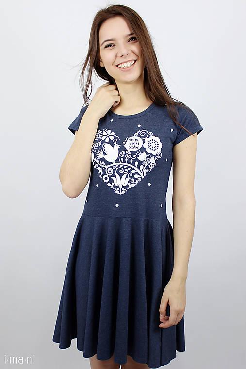 Dámske šaty 11 kruhové VIERA 9bbaf13355e