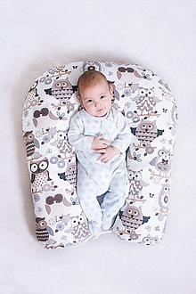 Textil - Vankúš na kojenie a polohovanie bábätka - 8073909_