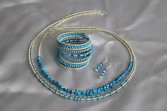 Sady šperkov - Súprava s tyrkenitom - 8075463_