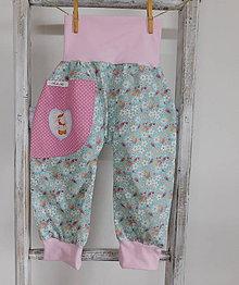 Detské oblečenie - Jarná lúka...nohavice 12-24M - 8073862_