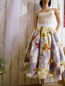 Sukne - Kruhová sukňa \
