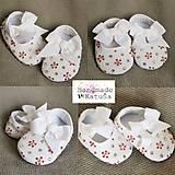 Topánočky - capačky kvety - 8074838_