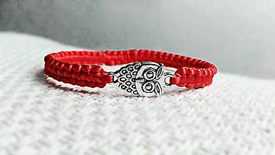 Náramky - Sova, symbol múdrosti - 8074048_