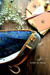 Kabelky - Ani veľká ani malá ľudová kabelka (farebné kombo!-zelená)  - 8075597_