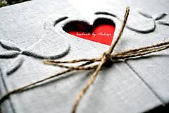 Papiernictvo - Svadobná kniha/plánovač/album - 8076765_