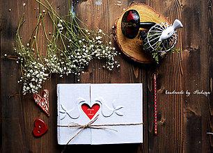 Papiernictvo - Svadobná kniha/plánovač/album - 8076762_