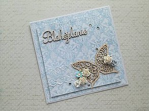 Papiernictvo - Svadobná pohľadnica - 8074533_