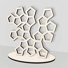 Pomôcky - Stojan na šperky - strom polygónov - 8073570_