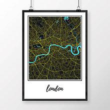 Obrazy - LONDÝN, klasický, čierny - 8074399_