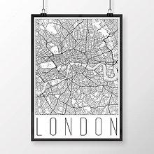 Obrazy - LONDÝN, moderný, biely - 8074518_