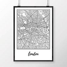 Obrazy - LONDÝN, klasický, biely - 8074525_