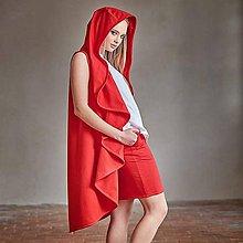Sukne - Červená sukně - 8073625_