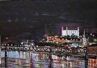 Obrazy - starý most - 8077516_