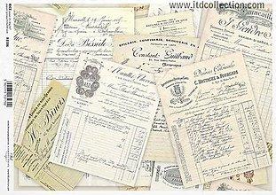Papier - ryžový papier ITD R1106 - 8076529_