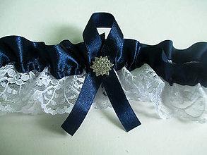Bielizeň/Plavky - svadobný podväzok - 8077422_