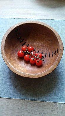 Nádoby - Misa Prešivana paradajka - 8076246_