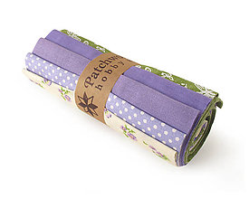 Textil - Bavlnené látky - rolka Violet II. - 8074604_