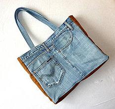 Iné tašky - Riflová taška - Vrecká. - 8075658_