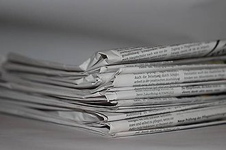 Darčeky pre svadobčanov - Tlač svadobných novín na novinový papier - 8078598_