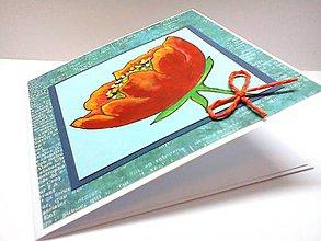 Papiernictvo - Pohľadnica ... maľovaná - 8080130_