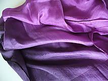 Šály - fialový pléd - 8081059_