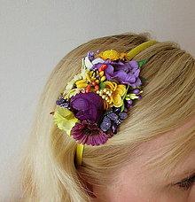 Ozdoby do vlasov - Flowers No. 14 - 8081137_