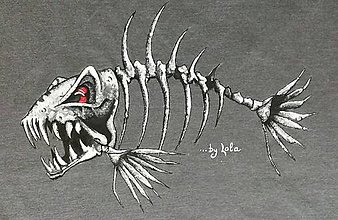 Tričká - Fish :-) - 8078353_