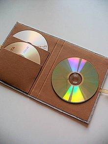 Papiernictvo - prírodný obal na 3 DVD - 8080227_