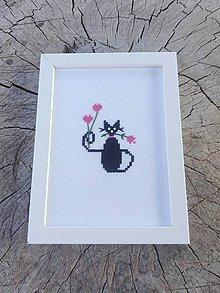 Dekorácie - Cat in love - 8080323_