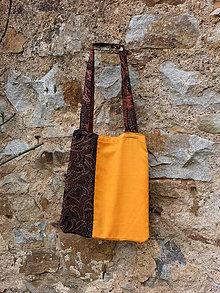 Nákupné tašky - kam zapadá slunce - 8079743_