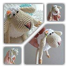 Dekorácie - Mini ovečka - 8080484_
