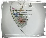 Darčeky pre svadobčanov - Ďakovné srdiečko pre rodičov - 8080262_