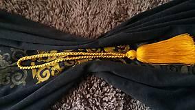 Úžitkový textil - dark curtain/záves/obrus/ - 8079148_