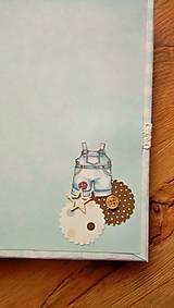 Papiernictvo - fotoalbum pre chlapčeka - 8079319_